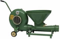 Zernometateli for pneumatic transportation of