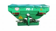 SPREADER OF THE MINERAL PH-0,8 FERTILIZERS