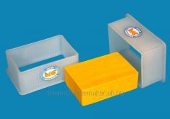 "Form for cheese of soft 1.0 kg. type ""Cheddar"", ""Suluguni"