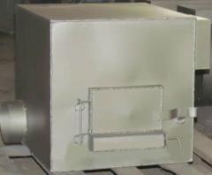 Печь отопительная, твердотопливная, лительного