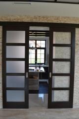Раздвижные деревянные двери на любой вкус!