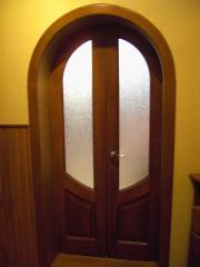 Межкомнатные, входные двери из дуба, ясеня