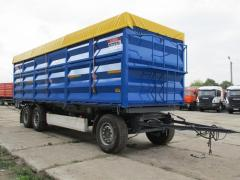 Dumping body of KRONE, lateral and back oprokid 46