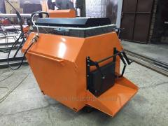 The recycler for asphalt processing