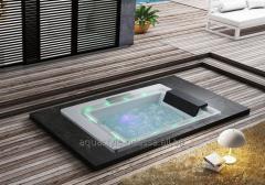 The hydromassage bathtub of Golston G-U3601 which