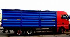 Кузов системы BDF (контейнер) на MAN, 39 м. куб.