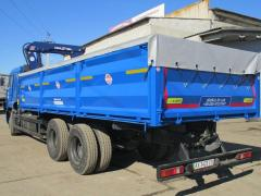 Body of a special purpose on KAMAZ 65117, back