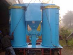 Primary cleaning – GRAIN SEPARATORS of BTsS-25,