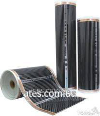 Film heating Luchi (width of 100 cm) of 220 W/sq.m
