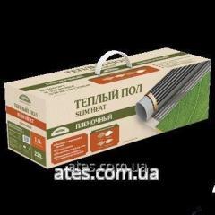 Инфракрасная нагревательная пленка теплый пол Slim Heat «Национальный комфорт» ПНК 1100Вт-5, 0м2