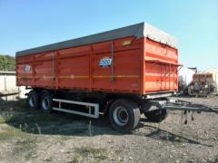 ACTION!!!! Trailer grain-carrier