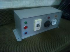 Панель управления печью полимеризации