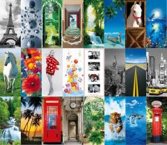Ready Swiss door photowall-paper. Free of charge