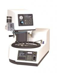 The grinding and polishing FORCIPOL machine...