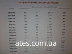 Теплый пол двухжильный нагревательный кабель WARMSTAD WSS-210 Вт длина 11,5 метра площадь обогрева 1,4-1,9 м2 комплект