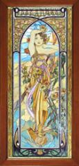 Stained-glass windows classical in Ukraine, Sumy,
