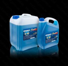 Антифриз А-40М (-40) 5кг (синий) TM Premium