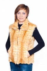 Vest from natural fur.