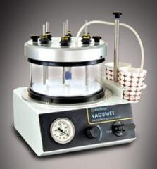 The device of vacuum impregnation (impregnation)
