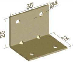 Corners from sheet steel