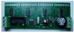 Controller of management of LED segment indication