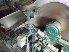 Equipment for production of toilet paper.