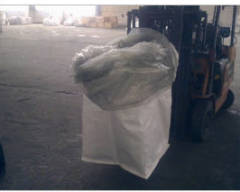 Containers are single polypropylene, bags big-run.