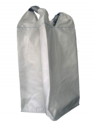 Containers are single polypropylene. Bags big-run.