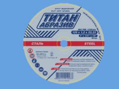 Cutting wheels of Titanabraziv
