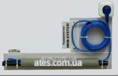 Кабель двужильный Hemstedt FS 10 Вт/м со встроенным термостатом, Длина 10 м