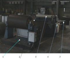The automatic transfer line of cross cutting threw