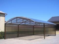 Canopies industrial CANOPIES, AVTONAVESY