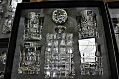 Set crystal for whisky in a box (a decanter +4