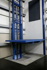 Elevators hydraulic and cargo platforms