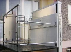 Elevators for disabled people