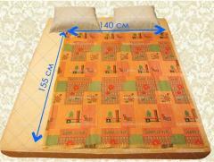 Electromattress of double 140х155 cm. (Baize)
