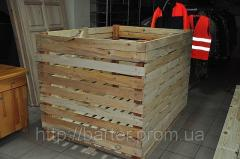 Container vegetable 1200х1200х1600 wooden folding