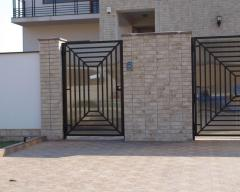 Gates under the order from metal