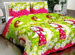 Fabric Coarse calico for children's bed linen