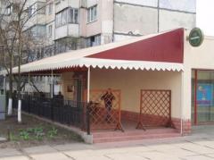 Nakrytiya for summer platforms