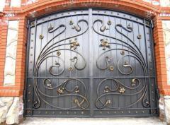 Gate garage metal