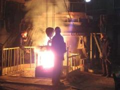 Arc melting furnaces of a direct curren