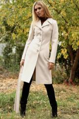 Пальто зимнее Валерия Молоко. Код продукта:131з