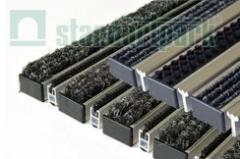 Придверные решетки, грязезащитные модульные