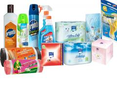 Household and professional chemicals.