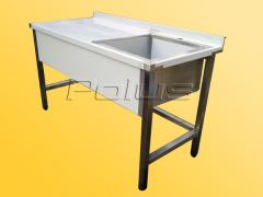 Production Tables with sec. SPVS 1 sinks.