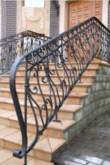 Handrail for ladders