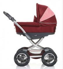 Детская универсальная коляска 2 в 1 GEOBY BABY
