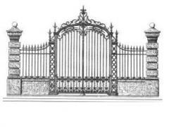 Эксклюзивные кованые ворота, калитки, заборы