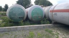 Propane-butane tanks on 54m.kub.